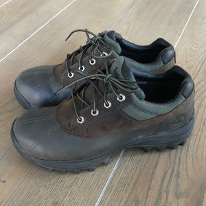 Timberland Sz 9 Brown Leather Lace Up Oxford Shoes